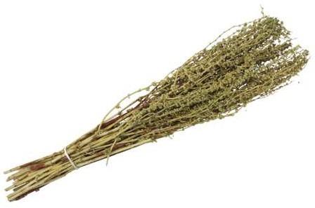 Palak stick 100 gr 65-75cm Green droogbloemen Zurigachtige bolletjes