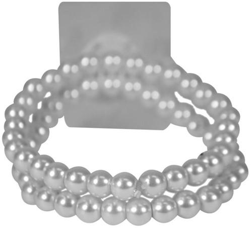 Corsage Polscorsage-armband Sweet Pea Wit per stuk Corsage Bracelet -