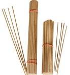 Tonkin Bamboe stokjes kort 20 cm. naturel 3mm BUNDEL 100 Tonkin Bamboe s