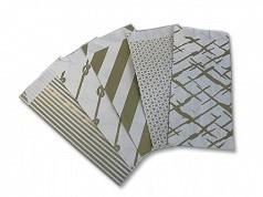 Luxe papieren diepdruk bonbonzakjes  5 assortiment.