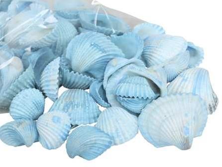 White Chippy light blue/dark blue 500 gr blauw, 500 gram