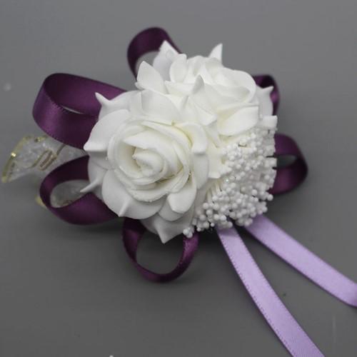 Actie Polscorsage elastisch White DEEP Purple Polscorsage KLaar